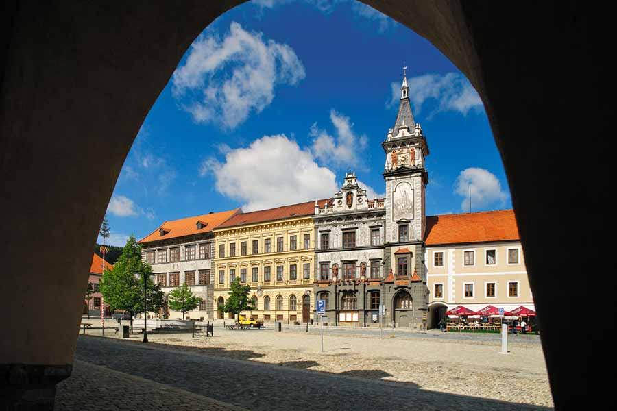 Město Prachatice, foto: Archiv Vydavatelství MCU s.r.o.