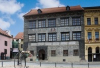 Stadt Prachatice - Altes Rathaus (Haus Nr. 1), Foto: Archiv Vydavatelství MCU s.r.o.