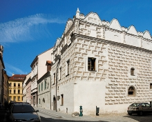 Prachatice Town - Huss' House (No. 71), the site of the Municipal Library, photo by: Archiv Vydavatelství MCU s.r.o.