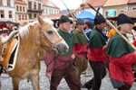 Prachatice - …up to 1,200 pack horses loaded with salt passed through Prachatice every week, photo by: Archiv Vydavatelství MCU s.r.o.